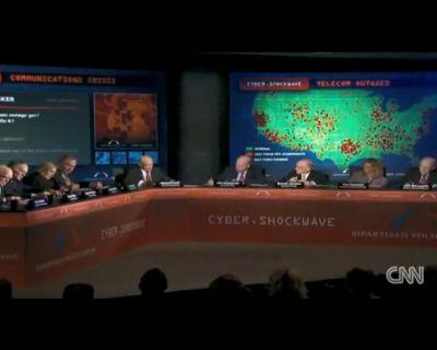 CNN simula Ataque Cibernético