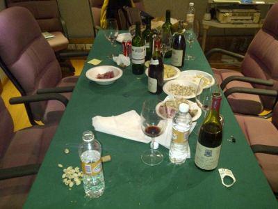 Así quedó nuestra mesa luego de Crimen Digital LIVE